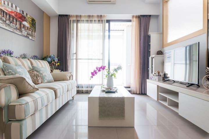 台北京站Q-square英式花園三房(3 bed room)