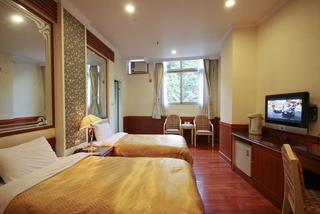 Lusan Hotspring Twin room,close to Cingjing