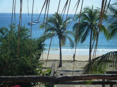 Bel appartement 2 sur la plage paisible