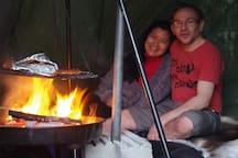 Stranda bed and fishing Lavvu