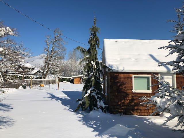 Come enjoy a winter wonderland!