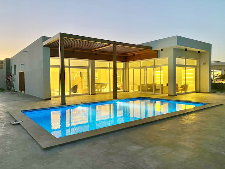 Exclusive luxury modern beach villa in SOMABAY