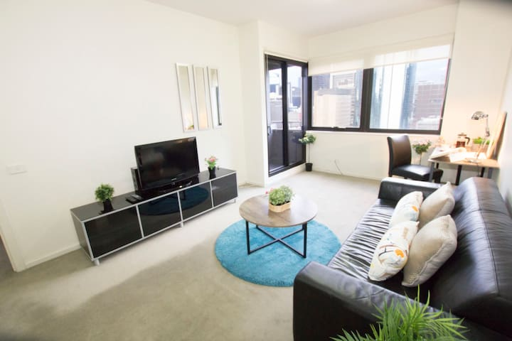 Huge 1Bed Room Apartment - Heart of Melbourne City - Melbourne - Apartment