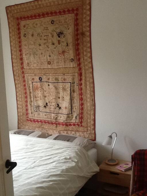 Slaapkamer achter; 2pp-bed