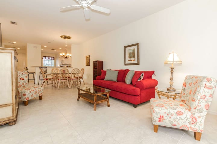 Resort-Style Gated Community Yet Private Retreat! Minutes from Beaches and the Caloosahatchee River!