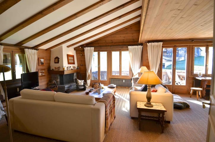 Private apartment in Gstaad - Saanen - Lejlighed