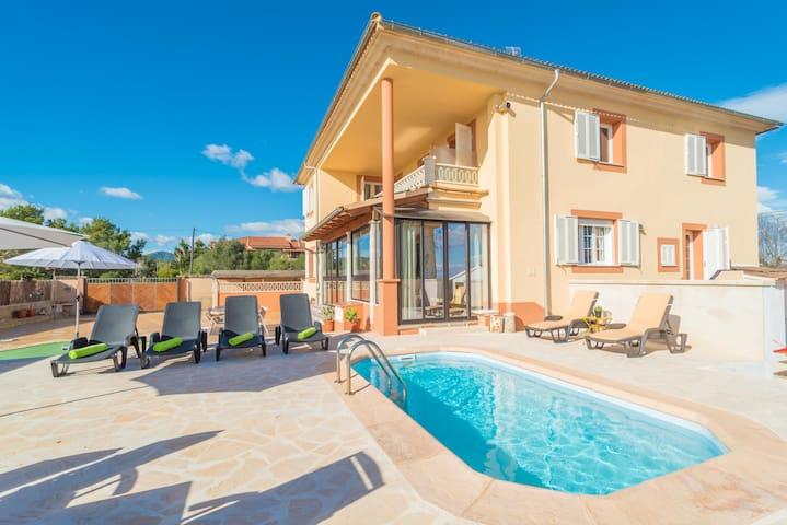 SOLIVERA - Villa for 8 people in Portocolom.