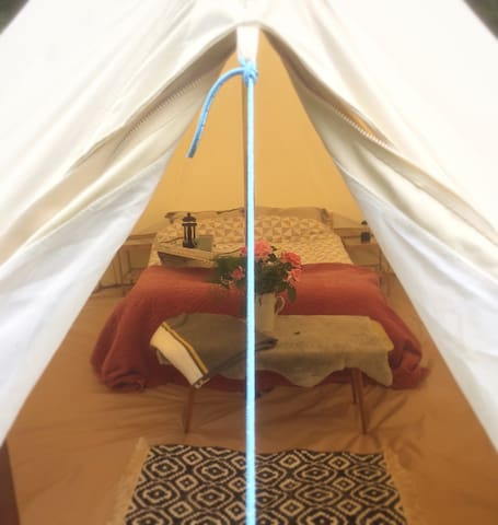 Higher Murchington Farm Bell Tent