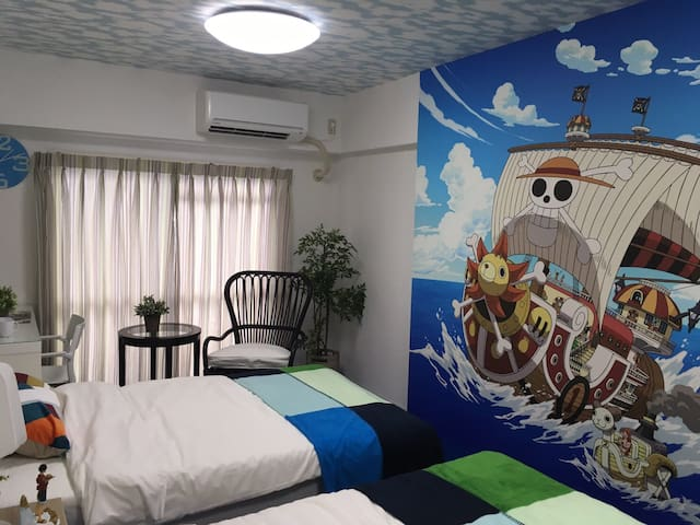 Stay in ONE PIECE's room!Close to Himeji sta!#11T1 - Himeji-shi