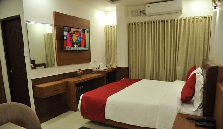 Air conditioned executive room with breakfast