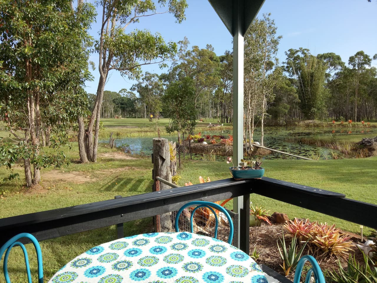 Sit back, relax, unwind and enjoy the rural view from your own front verandah.