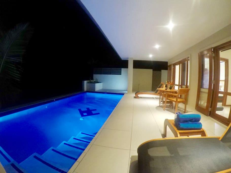 Luxury to bedroom exterior view