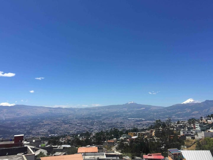 Full Apartment with view of the Andes