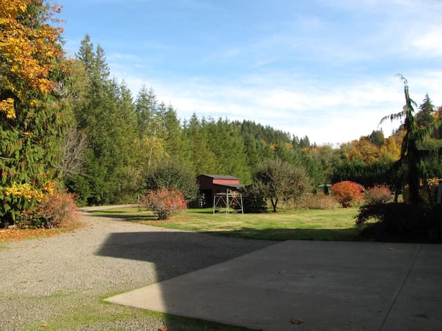 Quiet farm setting in Poulsbo