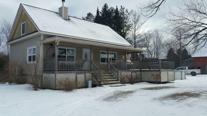 Maison de la prairie - Huberdeau - Haus