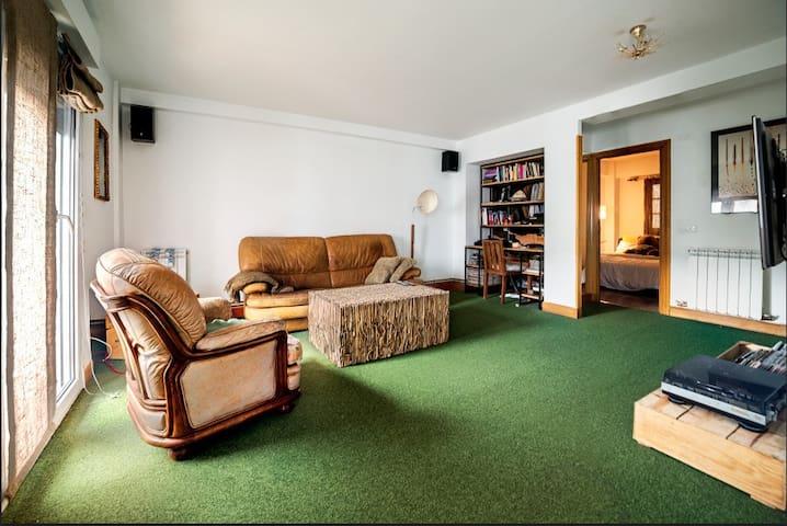 Double room in Comfy & spacious apt - San Sebastián - Wohnung