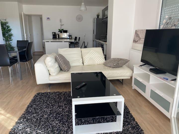 Superbe appartement proche de paris avec terrasse
