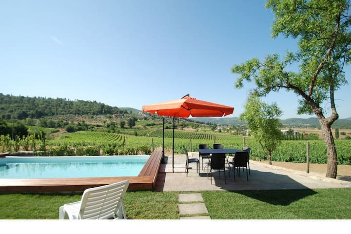 Tuscany. Independent barn, private swimming pool