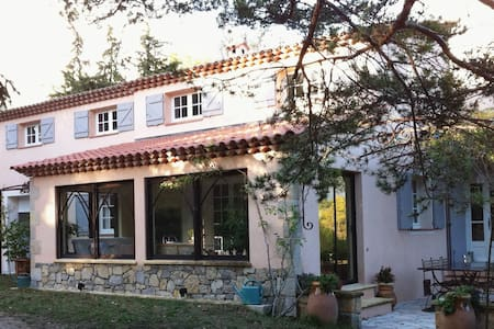 Maison de Provence, 7 couchages, piscine et nature