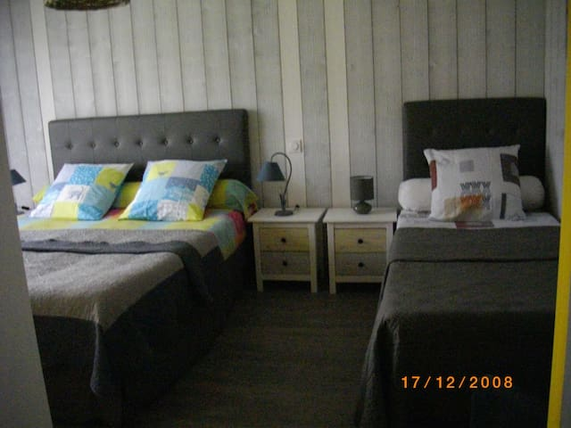 chambre mimosas - Pluherlin - Bed & Breakfast