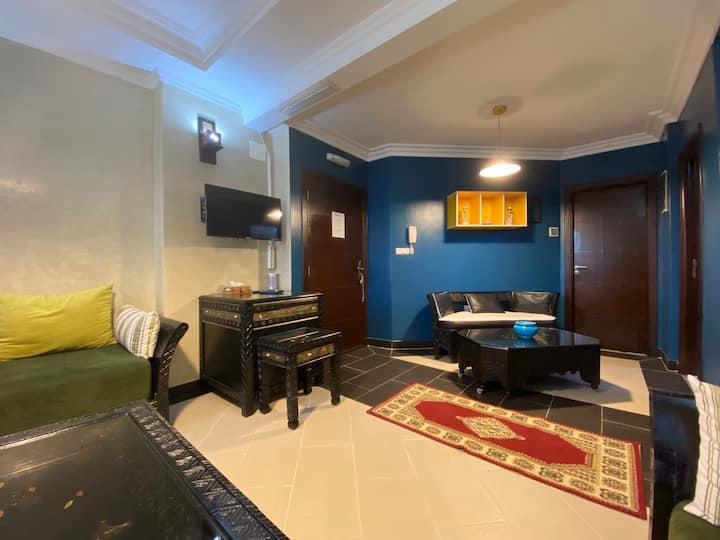 Apartment El Jadida with Wifi daily sanitisation