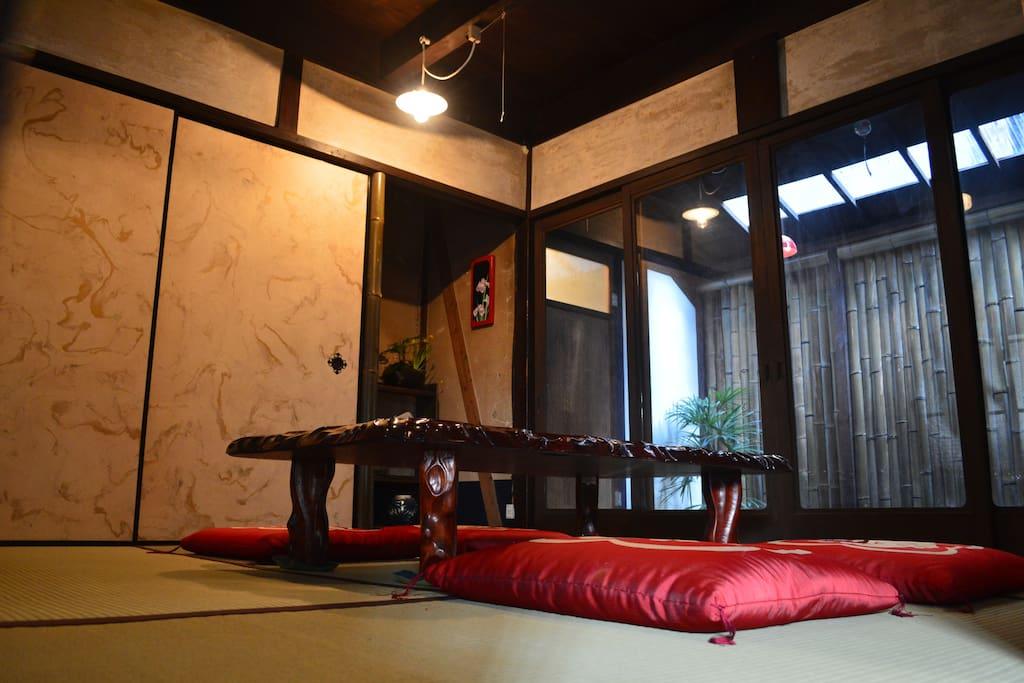 1F 和室(diningroom)