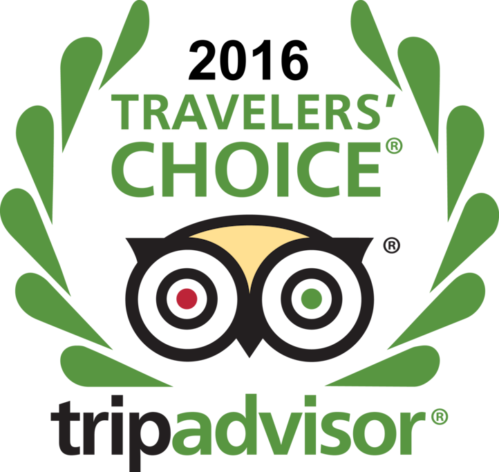 Tripadvisor Travelers Choice 2016
