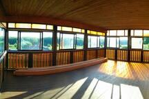 Терраса на 2 этаже/Terrace on the 2-d floor