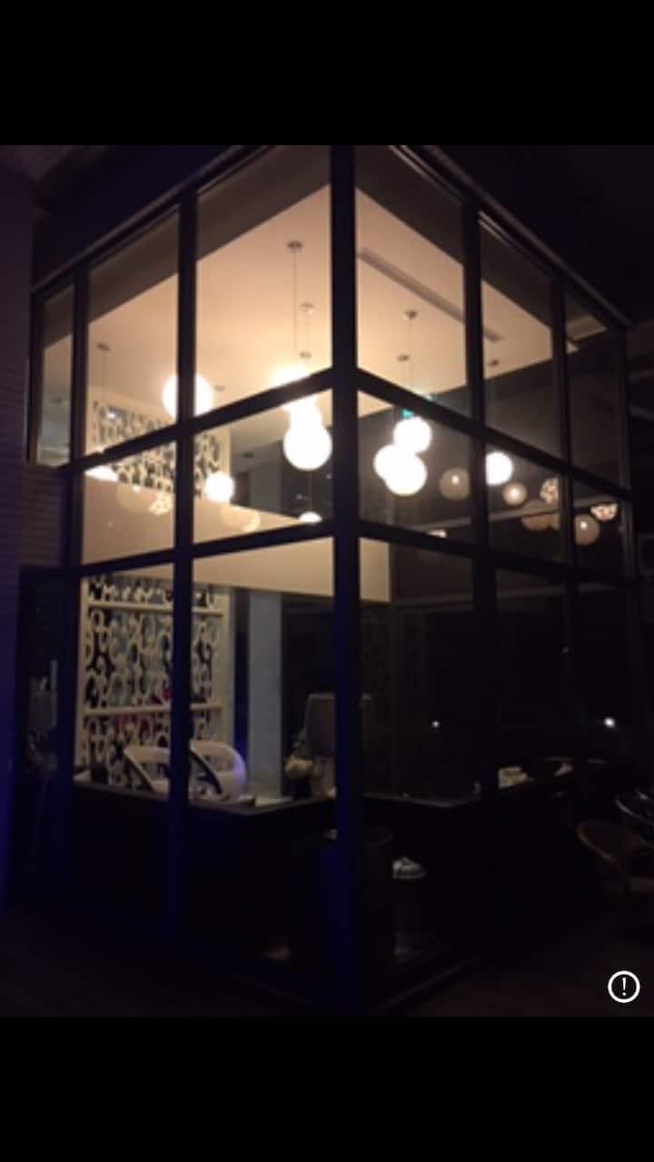 淡水藝術工作室獨立客廳陽台