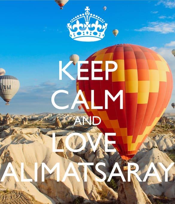 Alimatsaray es nuestro hogar. Os damos  la bienvenida a nuestro mundo