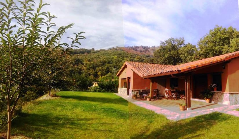 Country house in the Mountain. Gredos 10 pax. - Candeleda - Casa