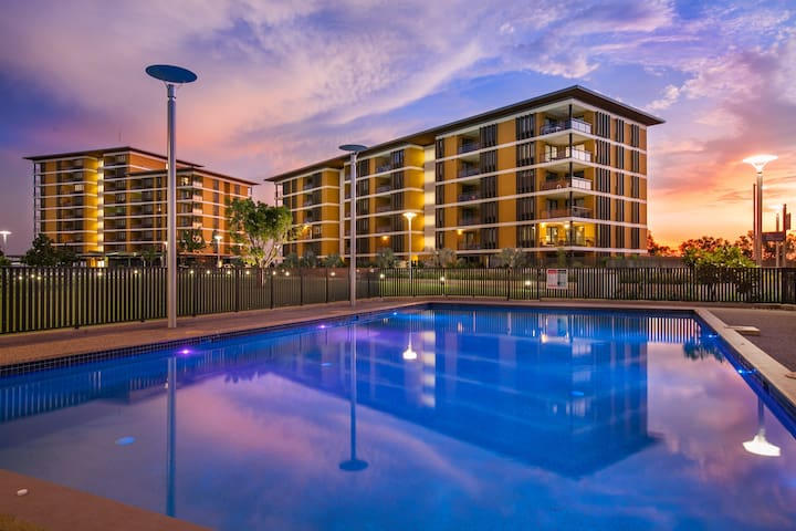 Darwin Wft Lux Suites+FREE CAR 2Bed