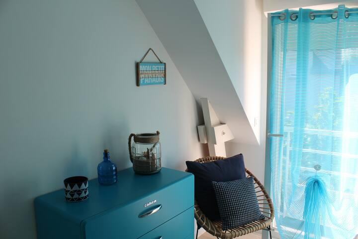 Appartement calme et douillet à 200 m de la mer