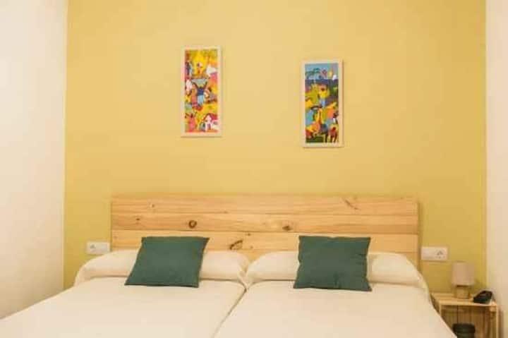 Pou de Beca - Habitación dos camas 5