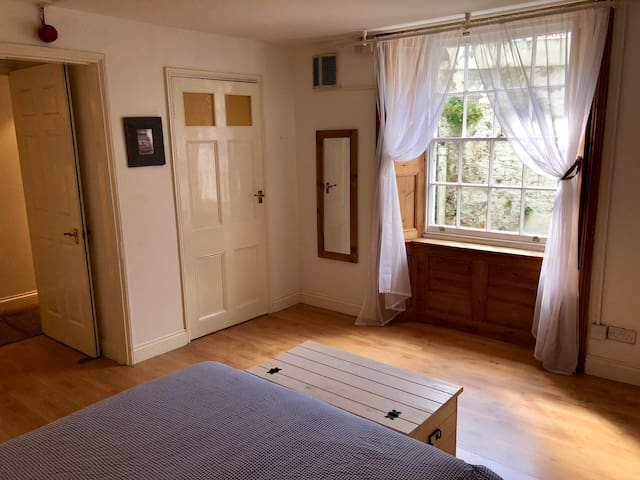 More angles of the bedroom - previous guests have described it as being much more spacious than the pictures demonstrate.