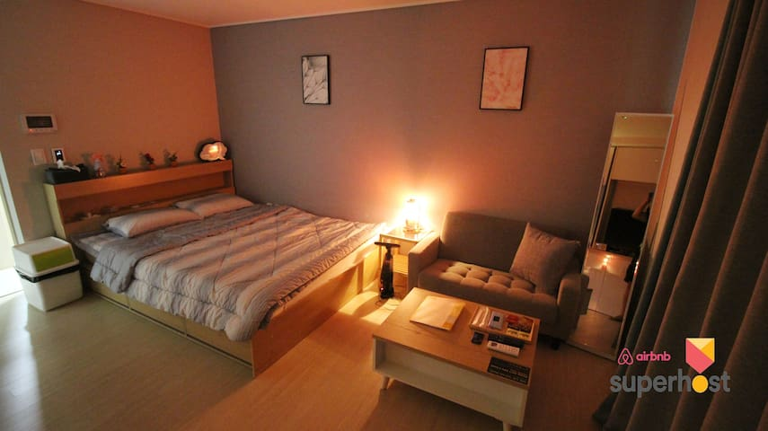 ★Ocean View DS Cozy House - Near Busan KTX #2★