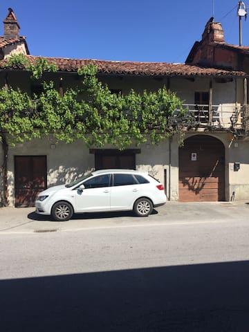 Monolocale con soppalco e patio - Cherasco - Apartment