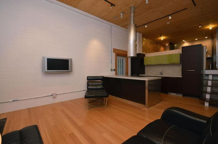 Modern Industrial Loft Space Fully Renovated