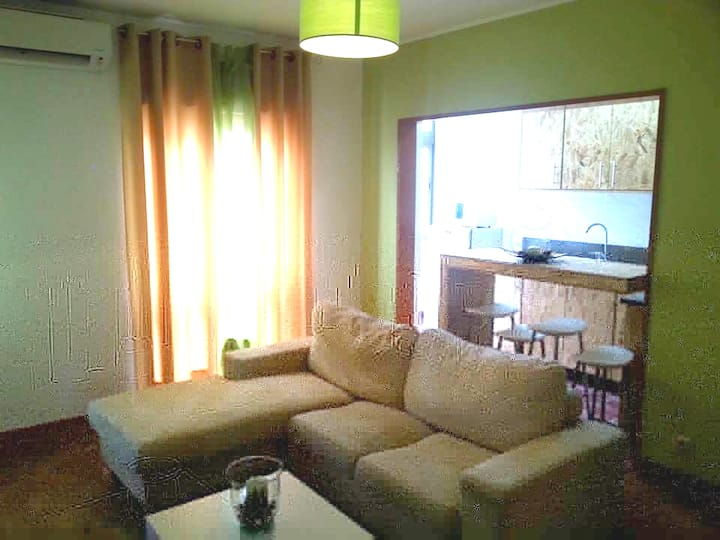 Apartment with 3 bedrooms in Seia, with wonderful city view and terrace - 30 km from the slopes