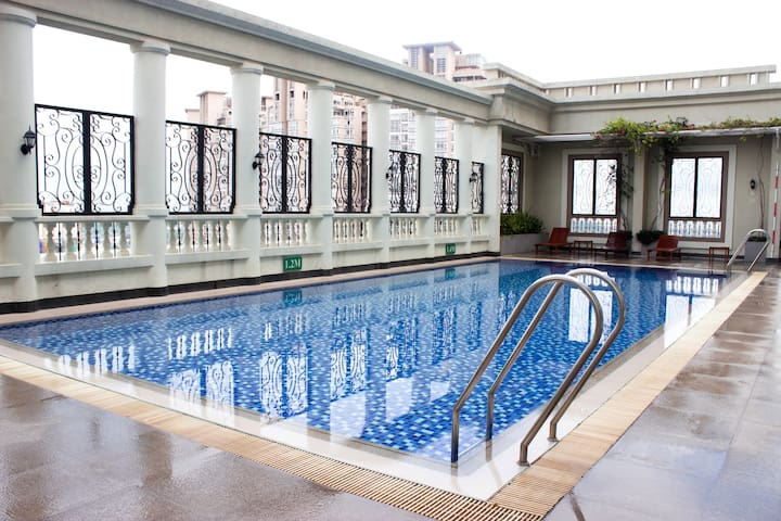 Awesome Studio + Gorgeous View + FREE Rooftop Pool - Ho Chi Minh - Apartament