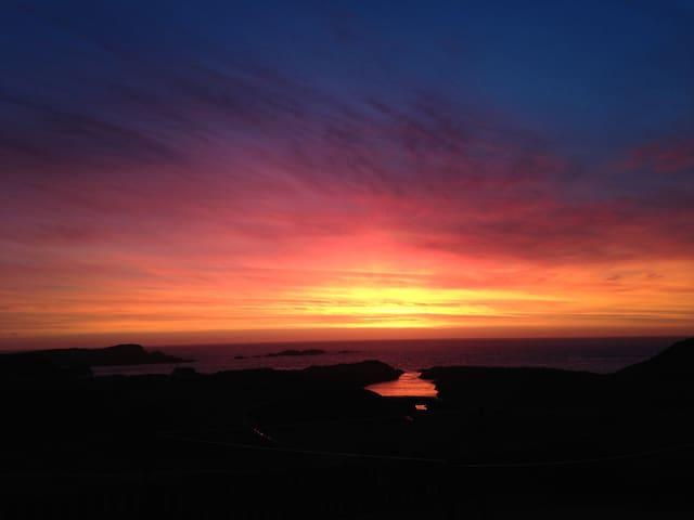 Claddach Sunset