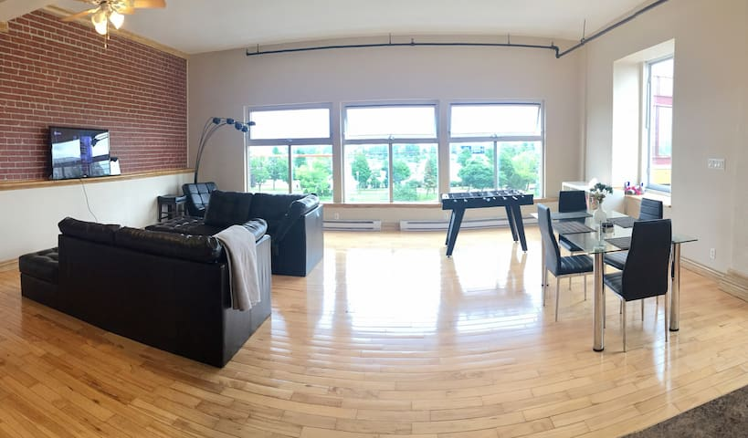 Big loft with waterview - Private rooftop terasse