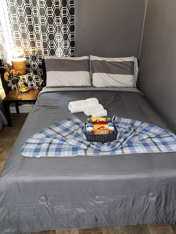 Room with double beds up to 4 p friends / Family