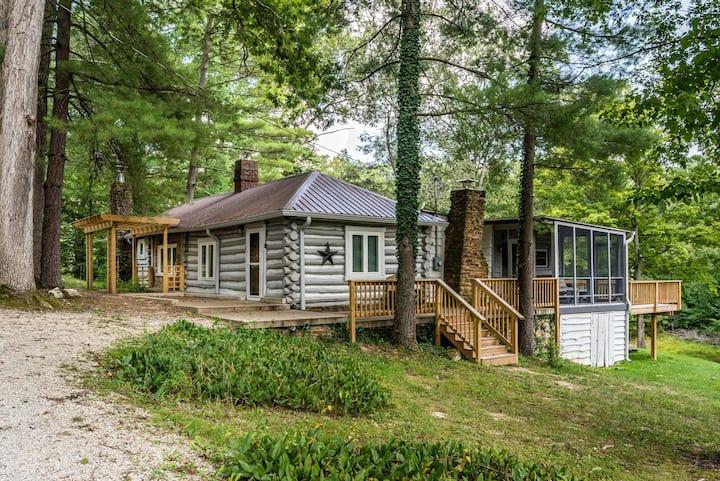 Serenity Vacation Log Cabin