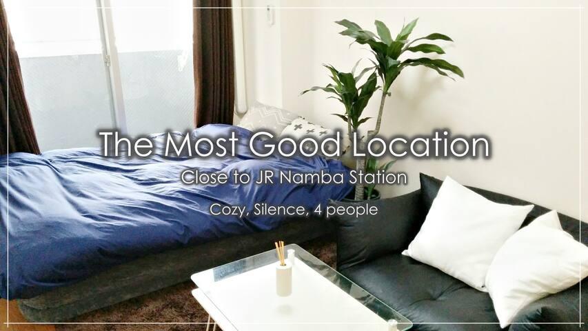 Very good location near Namba! Cozy, New Room. - Naniwa-ku, Ōsaka-shi - Pis