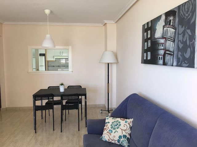 Beachfront apartment in La Manga
