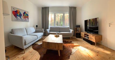 """Haus am Wald """"Wohnen mit Terrasse und Garten"""""""