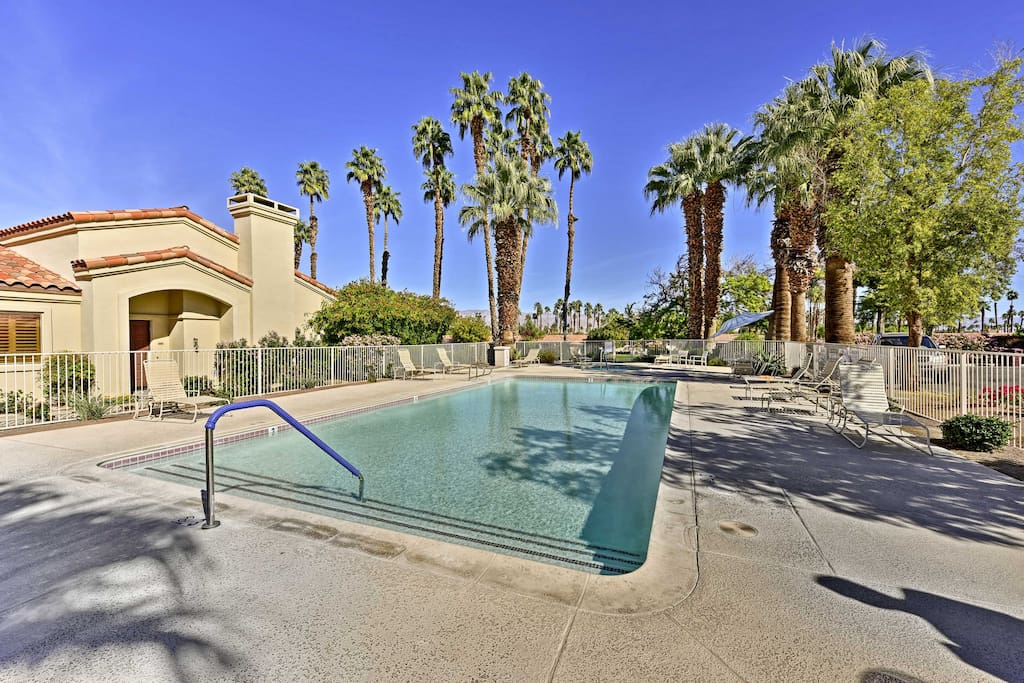 Soak up the California rays at the community pool.