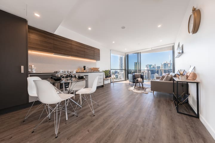 Million Dollar River Views in Trendy Apartment