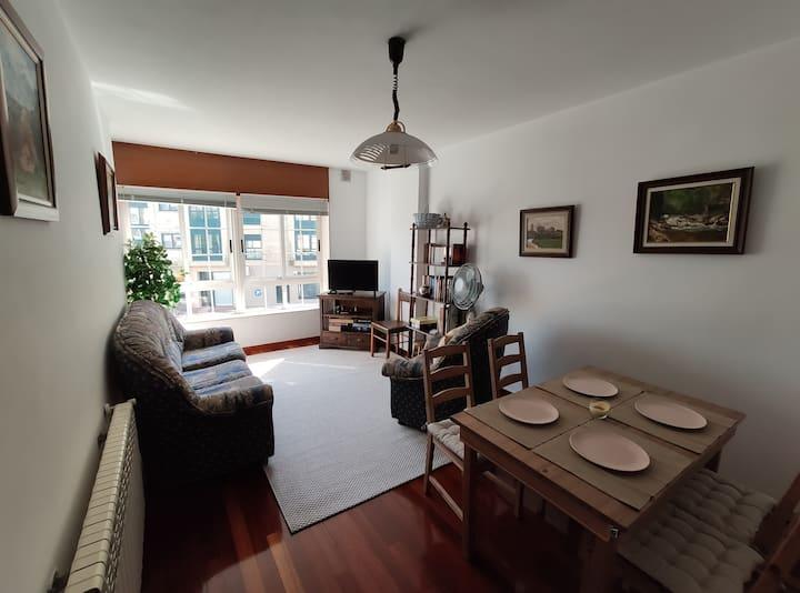 Apartamento en Bertamiráns, a 10' de Santiago